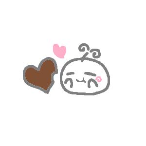 チョコを食う