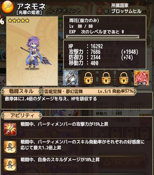 アネモネ(光華の姫君)